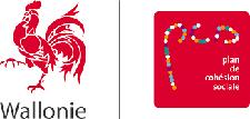 Logo Plan cohésion sociale Wallonie